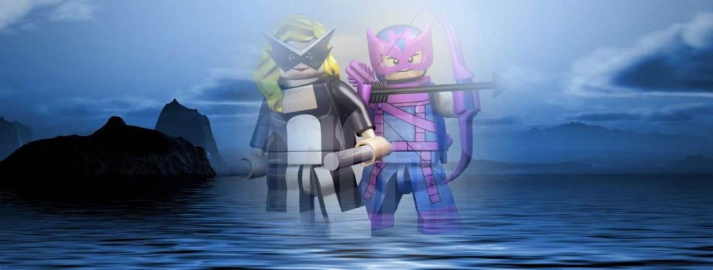 Lego Mockingbird & Hawkeye image by Mike Napolitan
