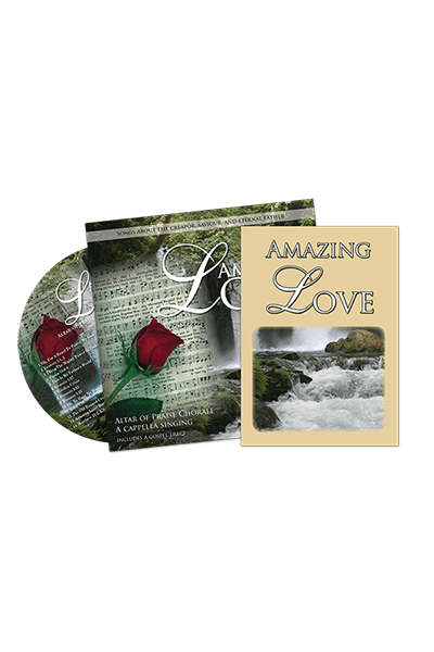 Amazing Love CD in envelope