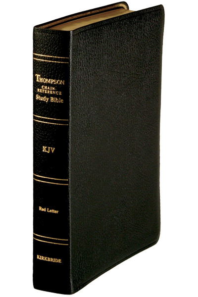 Thompson Chain Reference Bible | Standard Size | Genuine Leather
