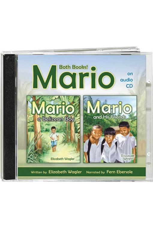 Mario, A Belizean Boy & His Friends Books on Audio CD 1