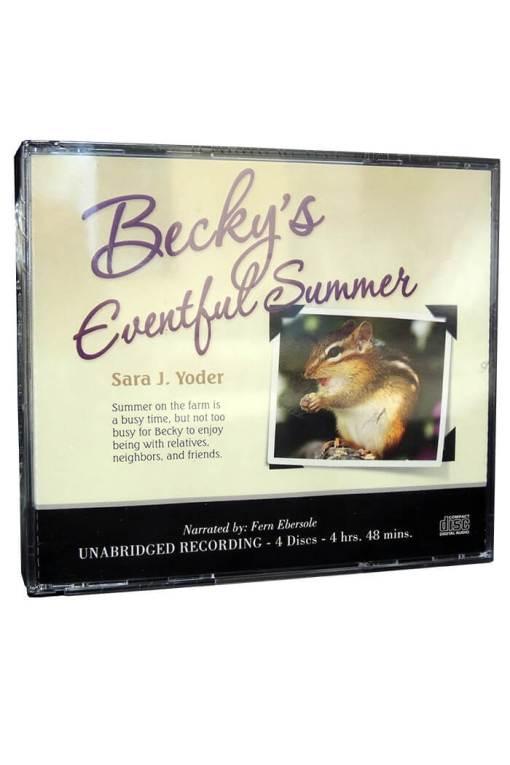 Becky's Eventful Summer Audio CD