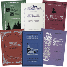 Six Early Classic Series hardcover Books value pack