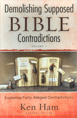 Demolishing Contradictions