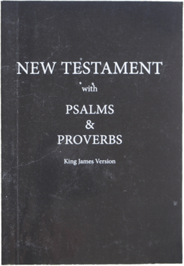 KJV New Testament with Psalms & Proverbs