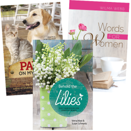 Christian Living~ Three Book Value Pack