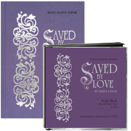 Saved by Love audio & book value pack