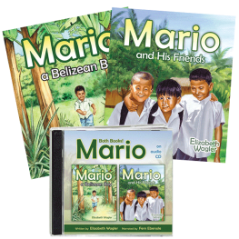 Mario, A Belizean Boy & His Friends audio & two book value pack