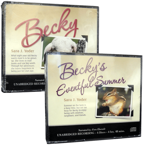 Becky and Becky's Eventful Summer Audio CD value pack