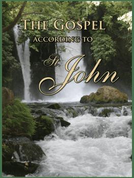 Gospel of John booklet