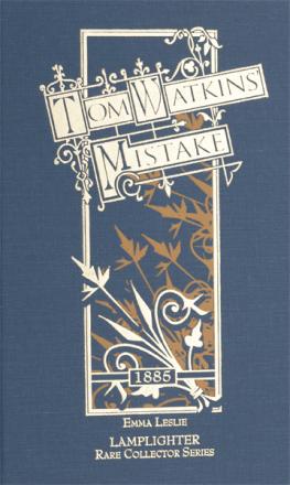 Tom Watkin's Mistake
