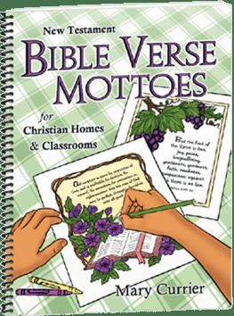 New Testament Bible Verse Mottoes