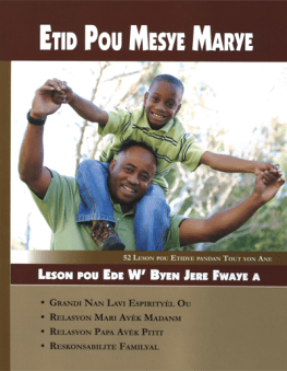 Creole Father's Study Book