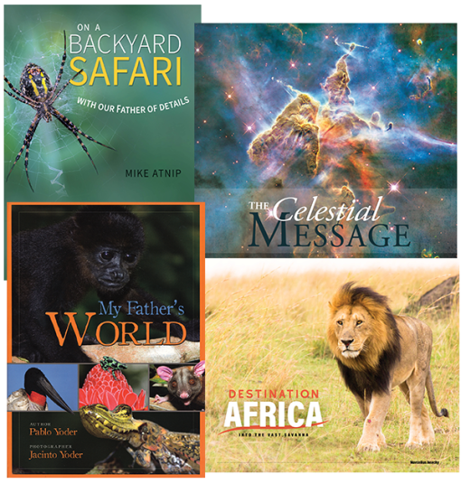 Four Nature Books Value Pack