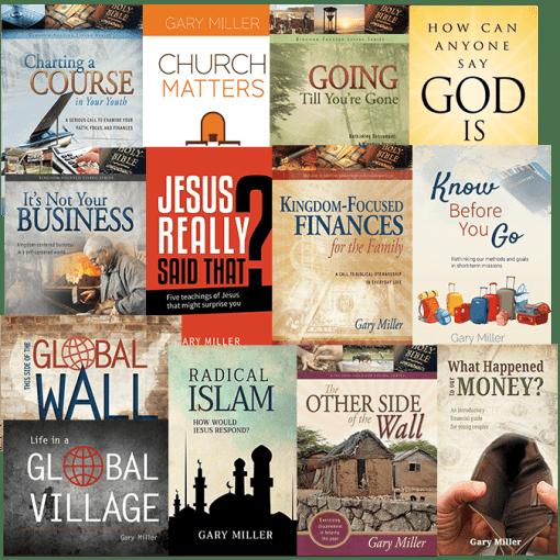 Gary Miller Books Value Pack