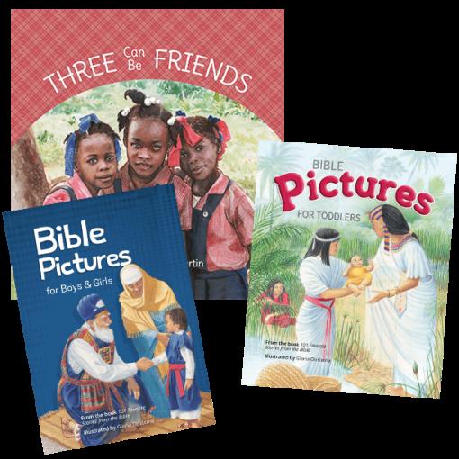 3 New Children's Book Value Pack