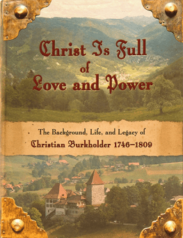 Christ is Full of Love and Power
