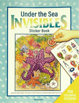 Under the Sea Invisibles Sticker Book