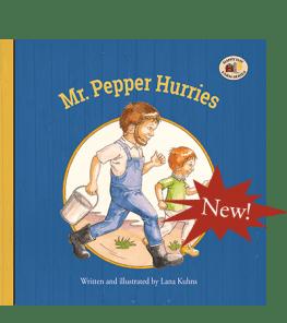Mr. Pepper Hurries