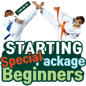 special starting package beginners