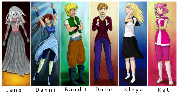 almost all main characters