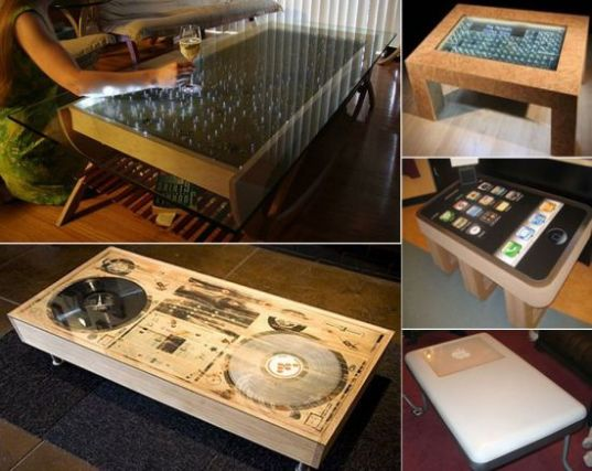 Tricked out tables