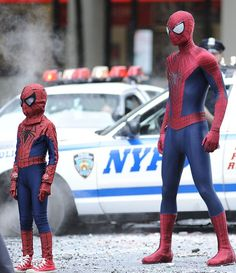 Spidey grows up?