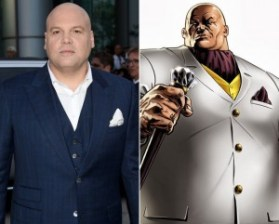 Vincent D'Onofrio as Wilson Fisk - hiding an entire barrel in his chest.