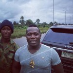 Duncan Mighty & His Convoy Stop To Rescue Accident Victim In Delta (Photos)