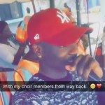 E NEWS! Skiborobo in Church? Rapper, Lil'Kesh, Storms His Father's Church to Perform with the Choir Members (Photos)
