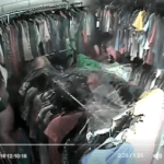 Lady Caught On Camera Stealing Clothes From Lagos Boutique (Photos/Video)