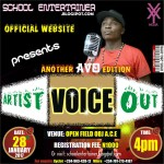 Artists Check this out – School Entertainers Present Artist Voice Out
