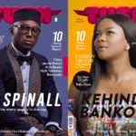 DJ Spinall and Kehinde Bankole grace the cover of Tush Magazine 17Th Edition
