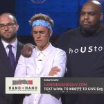 E! NEWS: Justin Bieber leads prayers at hurricane relief telethon