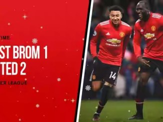 West Brom 1 – 2 Manchester United