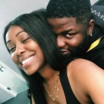 Skales and his new female friend all cherished up (photo)