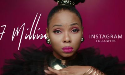 Yemi Alade Hits 7 Million Followers On Instagram