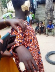 Man cuts ears of his 10-year-old son, burns his fingers for stealing his money (See photos)