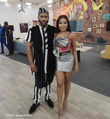 "#BBNaija 2020: Kiddwaya Is A One Minute Man – Erica Jokes About ""Kidd's Waya"""