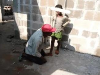 See What A Security Man Was Caught Doing To An 8-Year Old girl In An Uncompleted Building – Watch Video