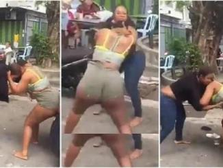 Two Slay Queens Trade Blows And Kicks Over Boyfriend [Watch Video]