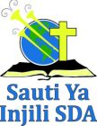 The Gospel's Voice Logo Sauti Ya Injili SDA
