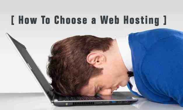 How to choose your webhsoting provider for absolute dummies