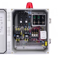 Duplex Pump Control Panel Wiring Diagram Grx Tvi Spi Model Sdc12b 120 240v 20fla
