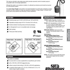 Septic Pump Float Switch Wiring Diagram 2003 Yamaha Grizzly 660 Best Price On Sje Rhombus Junior Super Single Online Guarenteed!!! - Tg Wastewater