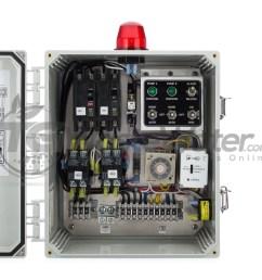 spi duplex time dosing control panel 120 230v 50a810 sstdd128 tg wastewater [ 1500 x 1500 Pixel ]