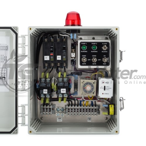 small resolution of spi duplex time dosing control panel 120 230v 50a810 sstdd128 tg wastewater