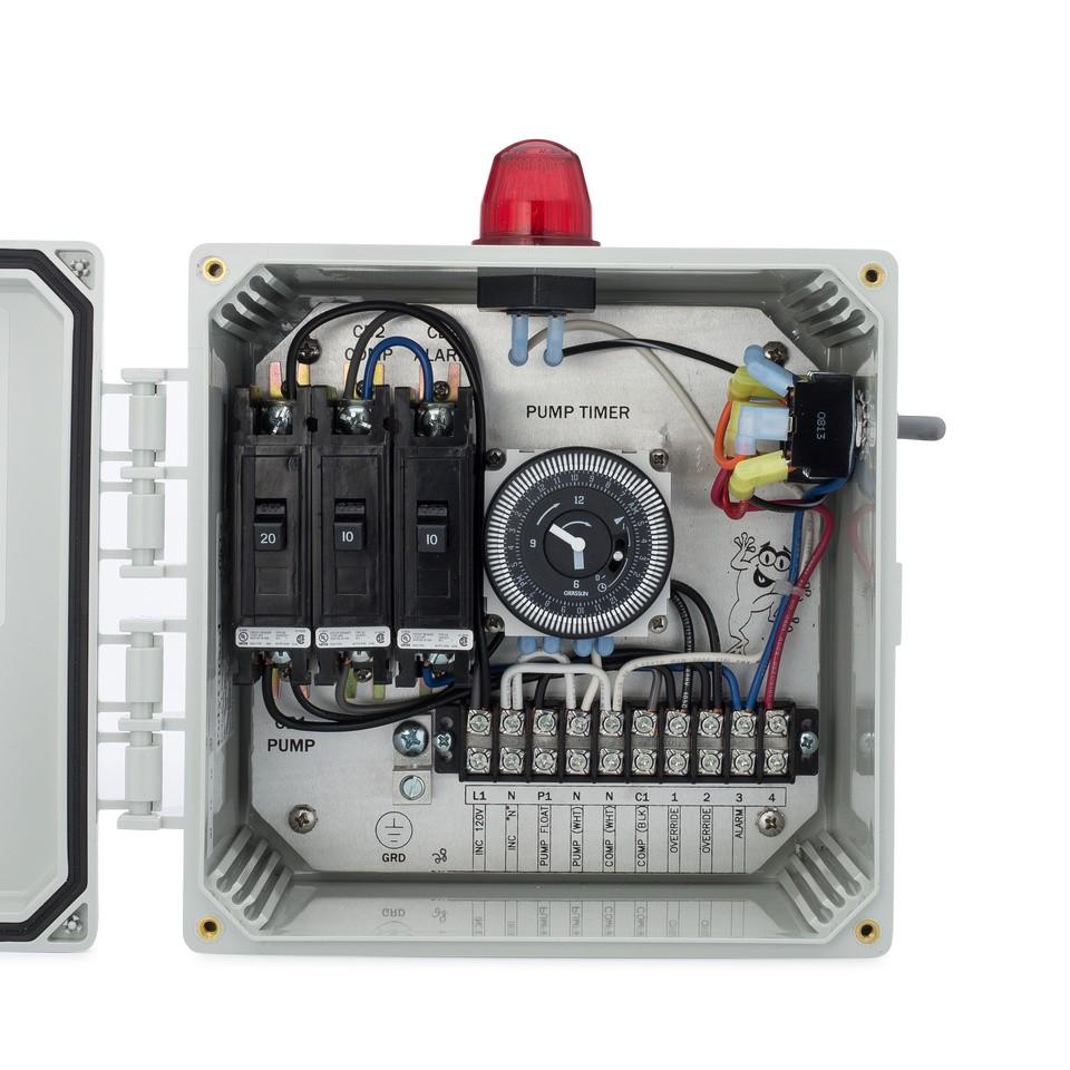 medium resolution of spi bio c single light control panel for aerobic septic systems 50b003 tg wastewater