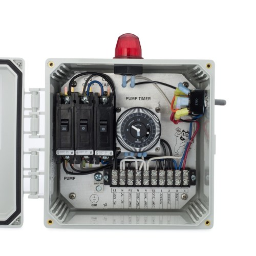 small resolution of spi bio c single light control panel for aerobic septic systems 50b003 tg wastewater
