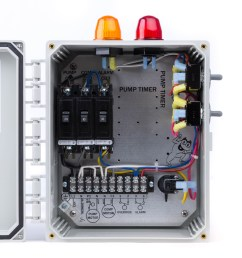 spi bio b double light control panel for aerobic septic systems 50b006 tg wastewater [ 3653 x 3653 Pixel ]