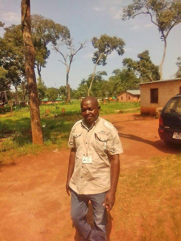 FQM local business development programme beneficiary Christopher Sondoyi.